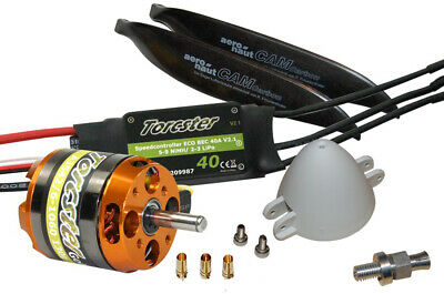Torcster Antriebsset EasyGlider 4/PRO Extreme Tuning 3s Multiplex MPX Brushless