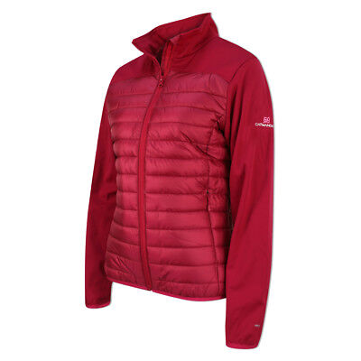 Catmandoo Windproof Hybrid Jacket with WindTech in Cherry Red