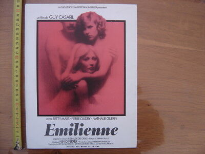 Synopsis cinema EMILIENNE Betty Mars Pierre Oudry Nathalie Guerin erotisme