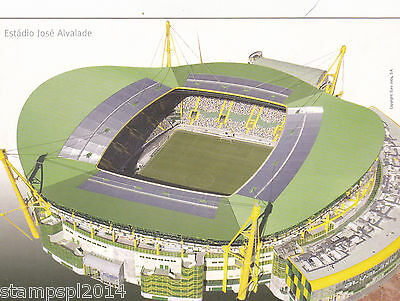 Postcard Euro 2004 Estadio Jose Alvalade