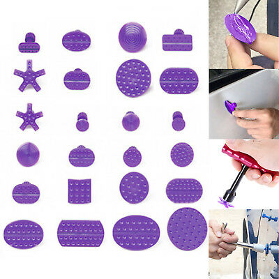 24Pcs Car Auto Paintless Dent Removal Repair Tools PDR Puller Lifter Glue Tabs