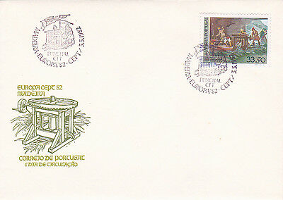 PORTUGAL / madeira EUROPA FIRST DAY COVER 1982