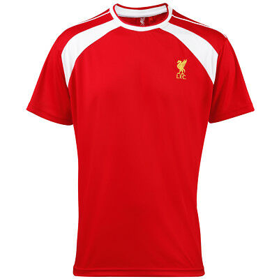 Liverpool FC adults t-shirt Red/ Gold Maglia Uomo Calcio Official Football Merch