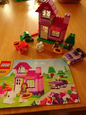 Lego 4625 Friends House & Car Set  - Complete & with Instructions