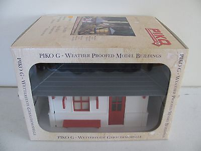 Vintage LGB Piko Weather Proof G Scale Bahnhof Station Green River #62700 EX