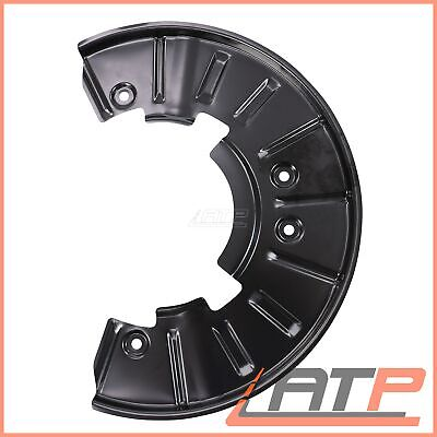 1x COVER PLATE FOR BRAKE FRONT RIGHT LEFT AUDI Q7 4L 06-15