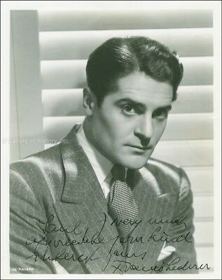 Francis Lederer - Inscribed Photograph Signed Circa 1938