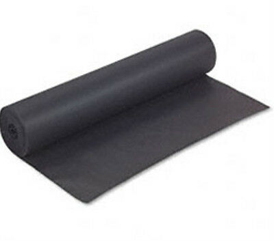 30 Foot Roll x 24 Inches Wide - 50# BLACK KRAFT PAPER - FREE SHIPPING