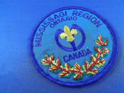 Boy Scouts Canada Missagi Region Ontario Vintage Patch
