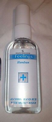 Evans Vanodine Handsan Alcohol Hand Sanitiser Pump Action  2 x 75ml