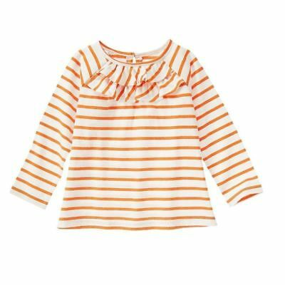 NWT Gymboree Girls Happy Harvest Orange Ruffle Top 6-12M 18-24M 2T 3T 4T 5T
