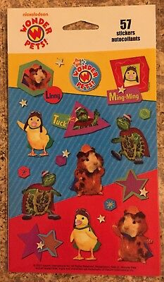 Wonder Pets Stickers Free Shipping New 3 Sheets