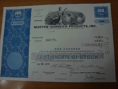 Morton Norwich Products