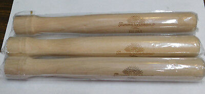 """New Old Stock Tommy Bahama Rum Solid Wood Bar Muddler 9 1/2"""" Natural Finish"""