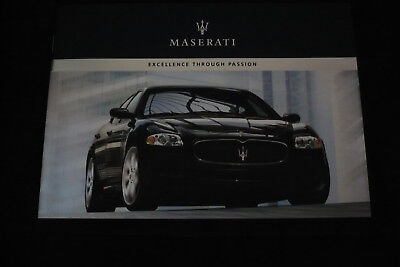 Maserati ( Catalogue Commercial France Annee 2000 ? ).