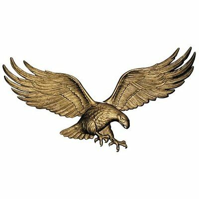 Whitehall Products Antique Brass 36'' Wall Eagle #00755
