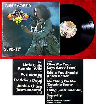 LP Curtis Mayfield: Black Magic - Superfly (Buddah M 201 717) D