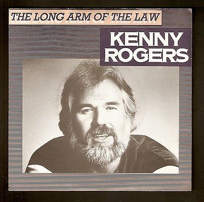 """Kenny Rogers - The long arm of the Law  7"""" vinyl 1980 A1/B1"""
