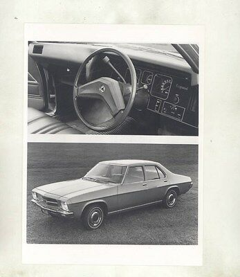 1972 ? Holden Kingswood & Interior ORIGINAL Factory Photograph wy4021