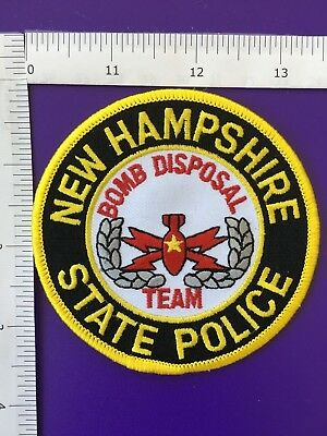 New Hampshire State Police  Bomb Squad  Shoulder Patch