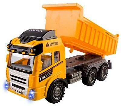 RC Dump Truck Toy Construction Truck Remote Control Truck 4CH Full Function