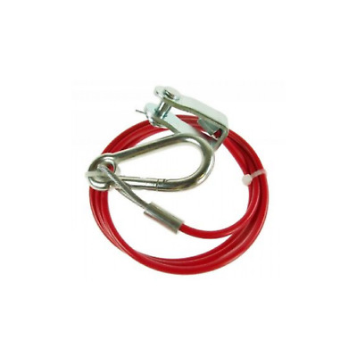 Breakaway Safety Cable & Clevis Pin Suitable Ifor Williams Knott Avonride BK120