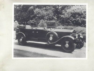 1923 ? Rolls Royce 20HP ORIGINAL Factory Photograph wy5977