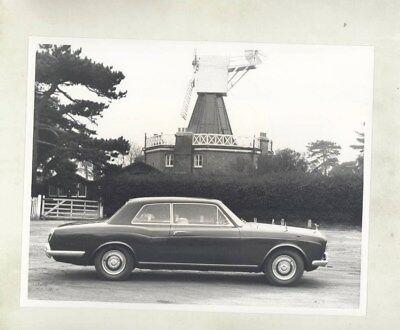 1969 Rolls Royce Silver Shadow Mulliner Coupe ORIGINAL Factory Photo wy5984