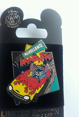 Disney DCA Stitch Mulholland Madness Surprise Pin