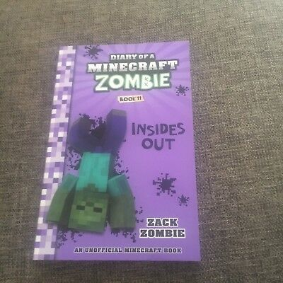 New, Zack Zombie. Diary Of A Minecraft Zombie. Book 11 Inside Out. 9781743818398