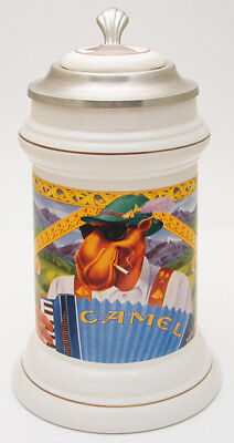 Beer Stein Mug Camel Accordion Limited Edition Collectors Stein