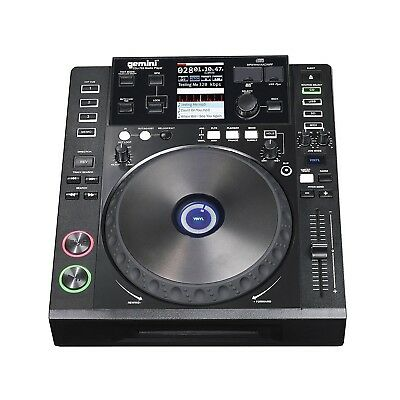 Gemini CDJ-700 Professional Media Controller with CD, SD and USB Compatibility