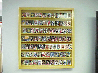 Wallmount Card Display Case will hold 50-100