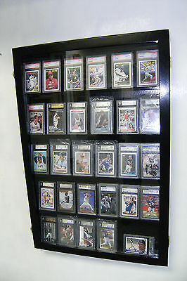 Card Display Case 30 Deep for Graded Cards/ Beckett