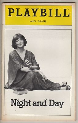 "Maggie Smith  ""Night And Day""  Playbill  1980  Tom Stoppard  Broadway"