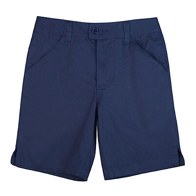 Navy Blue Bermuda Shorts Size 4 Girls French Toast Official School Uniform New