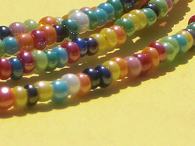 "Colorful Sunglass/Eyeglass Chain~Tequila Sunrise~w/Crystals~28""~Buy 3 SHIP FREE"