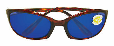 9c7ac152245 Costa Del Mar Harpoon Tortoise Frame Blue Mirror 580P Plastic Polarized Lens
