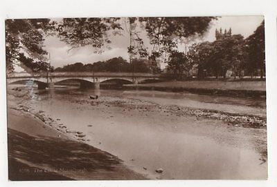 The Esk at Musselburgh RP Postcard, B100