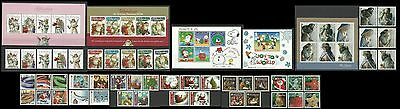 Gibraltar-Christmas-Complete sets & mini sheets-Face Value:£28.80~~FREE POST~~