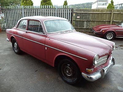 Volvo 122S 2Dr B18 Amazon (1965) Red! Lhd 99% Rustfree Solid Project! Now Sold!