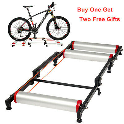 RockBros Cycle Roller Trainer Indoor Folding Parabolic Bike Trainers 2 Colors