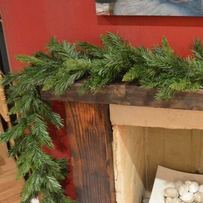 270cm (9ft) Kateson Fir Green Christmas Garland with 180 tips
