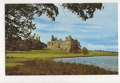 The Palace & Loch Linlithgow 1968 Postcard 644a