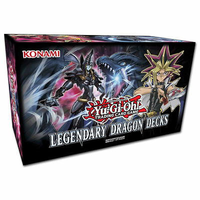 Yu-Gi-Oh Legendary Dragon Decks 3 - DEUTSCH - 1.Auflage