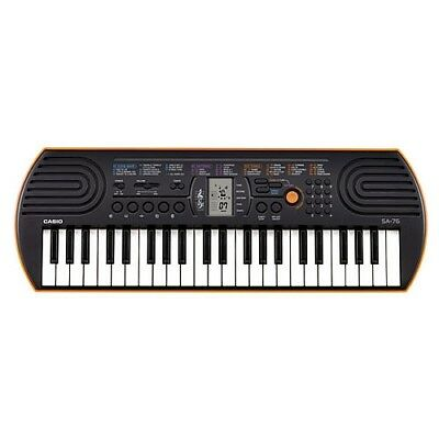 Casio SA-76 44 Key Electronic Keyboard