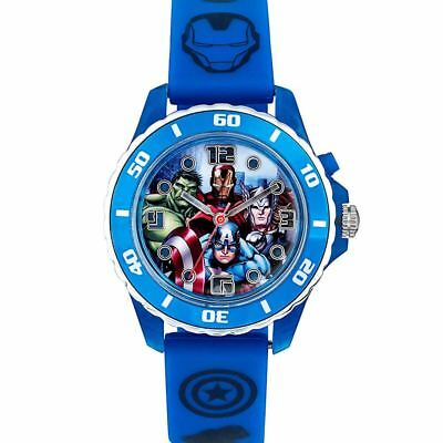Official Licensed Marvel Avengers Superheroes Flashing Analogue Watch