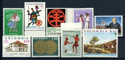Colombia 1971 MNH 100% Culture