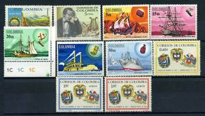 Colombia 1966 MNH 100% Culture