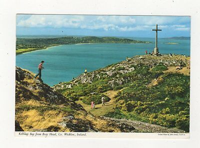 Killiney Bay From Bray Head Co Wicklow Ireland 1964 Postcard 886a
